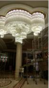 斯铂特大酒店水晶灯清洗/专业水晶灯清洗公司